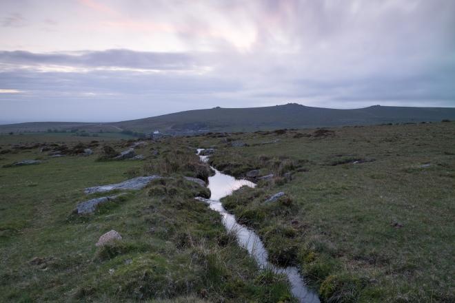 Merrivale and the Staples, dusk